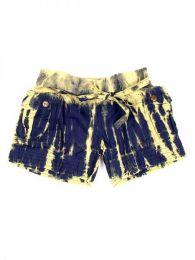 Pantalón corto hippie Mod Azul cr