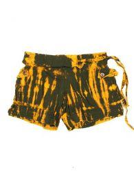 Pantalón corto hippie Mod Verde