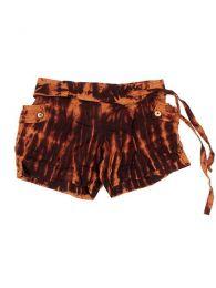 Pantalón corto hippie Mod Marrón