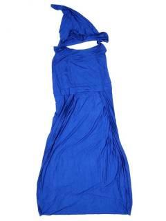 Pantalones Hippie Harem - Pantalón mono hippie PAJU07P - Modelo Azul