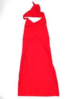Pantalones Hippie Harem - Pantalón mono hippie PAJU07P - Modelo Rojo