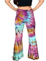Pantalones Hippie Harem - Pantalón hippie testampado PAJU08.