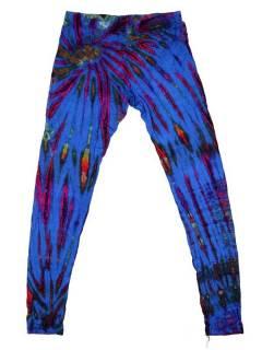 Pantalones Hippie Harem - Pantalón hippie tipo PAJU10 - Modelo Azul