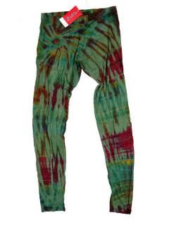 Pantalones Hippie Harem - Pantalón hippie tipo PAJU10 - Modelo Verde