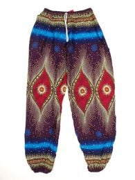 Pantalón unisex hippie Mod Morado