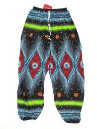 Pantalón unisex hippie Mod Negro