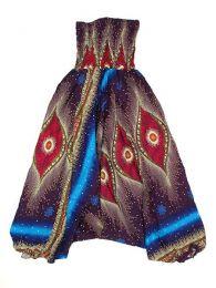 Pantalón hippie ancho Mod Azul os