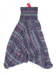 Pantalones Hippie Harem - Pantalón hippie ancho PAPA06 - Modelo Morado
