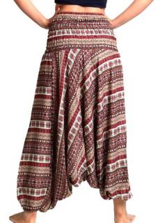 Pantalones Hippies Harem Yoga - Pantalón hippie ancho PAPA06.