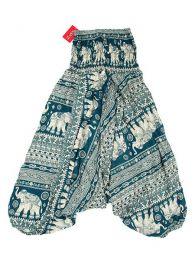 Pantalón hippie ancho Mod Verde
