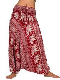 Pantalones Hippies Harem Boho - Pantalón hippie ancho PAPA10.