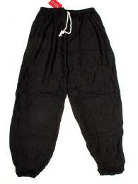 Pantalon unisex amplio rayón liso PAPA11 para comprar al por mayor o detalle  en la categoría de Complementos Hippies Alternativos.