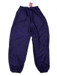 Pantalon unisex amplio rayón liso PAPA11 para comprar al por mayor o detalle  en la categoría de Artículos Artesanales.