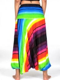 Pantalón hippie ancho detalle del producto
