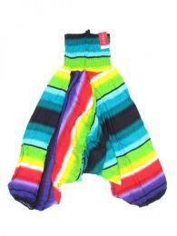 Pantalón hippie ancho Mod Azul cl