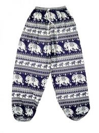 Pantalones Hippies Largos - Pantalón unisex hippie PAPA15 - Modelo Morado