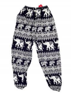 Pantalones Hippies Harem Yoga - Pantalón unisex hippie PAPA16 - Modelo Morado