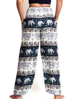 Pantalones Hippies Harem Yoga - Pantalón unisex hippie PAPA18.