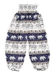 Pantalon amplio rayón mandalas PAPA18 para comprar al por mayor o detalle  en la categoría de Outlet Hippie Étnico Alternativo.