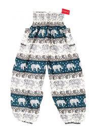 Pantalon amplio rayón mandalas PAPA18 para comprar al por mayor o detalle  en la categoría de Bisutería Hippie Étnica Alternativa.