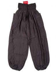 Wide plain rayon pants PAPA19 to buy wholesale or detail in the Alternative Ethnic Hippie Outlet category.