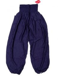 Pantalon amplio rayón liso PAPA19 para comprar al por mayor o detalle  en la categoría de Outlet Hippie Étnico Alternativo.