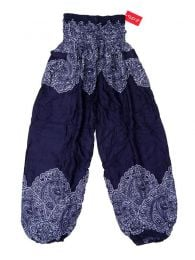 Wide PAPA21 ethnic print trousers to buy wholesale or detail in the category of Alternative Hippie Accessories.