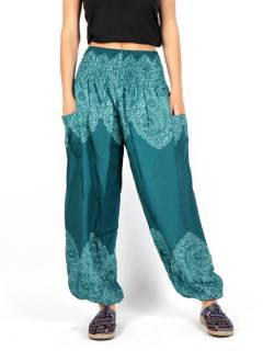 Hippie Harem Pants - Wide ethnic print pants [PAPA21] to buy wholesale or detail in the category of Hippie Clothing for Women.