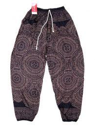Pantalones Hippie Harem Boho - Pantalón unisex hippie PAPA22 - Modelo Negro