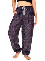 Pantalones Hippie Harem Boho - Pantalón unisex hippie PAPA22.