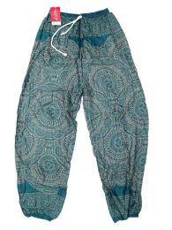 Wide rayon mandala pants PAPA22 to buy wholesale or detail in the category of Alternative Hippie Accessories.