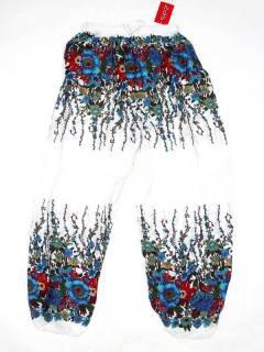 Hippie Harem Pants - Unisex hippie pants PAPA23 - Model Blue