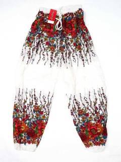 Hippie Harem Pants - Unisex hippie pants PAPA23 - Model Red