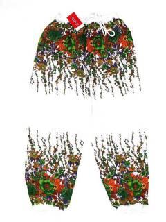 Hippie Harem Pants - Unisex hippie pants PAPA23 - Model Green