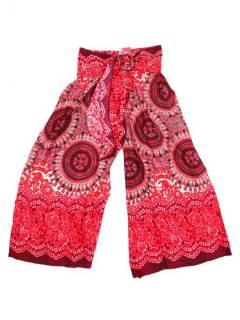 Pantalones Hippies Harem Yoga - Pantalon amplio con estamdo PAPI01 - Modelo Rojo