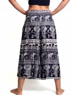 Pantalones Hippies Harem Yoga - Pantalon amplio con estampado PAPI02.