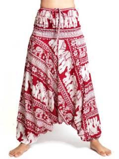 Pantaloni arabi rayon elefanti, da acquistare all'ingrosso o dettaglio nella categoria di abbigliamento hippie da donna | Negozio alternativo ZAS. [PAPI05]