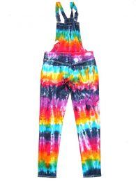 Pantalones Hippie Harem - Peto largo de tela vaquera PAPK01.