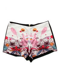 Outlet Ropa Hippie - Pantalones PAPO04 - Modelo Rosa flor