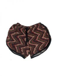 Pantalones Cortos Hippie Ethnic - Pantalón hippie corto PAPO08 - Modelo 172