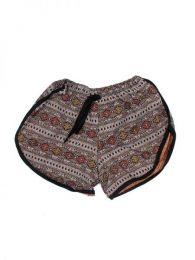 Pantalones Cortos Hippie Ethnic - Pantalón hippie corto PAPO08 - Modelo 176