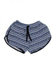 Pantalones Cortos Hippie Ethnic - Pantalón hippie corto PAPO08 - Modelo 173