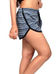 Rayon Shorts - Printed cotton shorts [PAPO08] to buy wholesale or detail in the category of Hippie Clothing for Women.