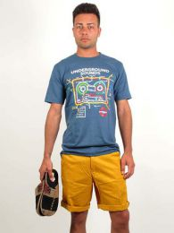 Pantalones Hippies - pantalón corto bolsillos PASC01.