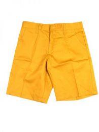 pantalón corto bolsillos Mod Amarillo