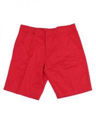 pantalón corto bolsillos Mod Rojo