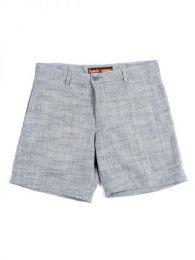 pantalón corto pinzas Mod Gris