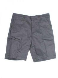 pantalón corto estilo Mod Negro