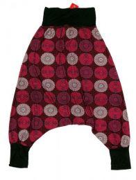 Pantalón hippie tipo Mod Rojo