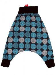 Pantalón hippie tipo Mod Azul